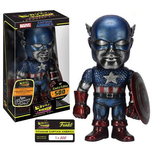 Captain America Makes His Hikari Debut