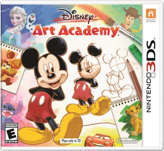 Disney Art Academy Coming To Europe In July