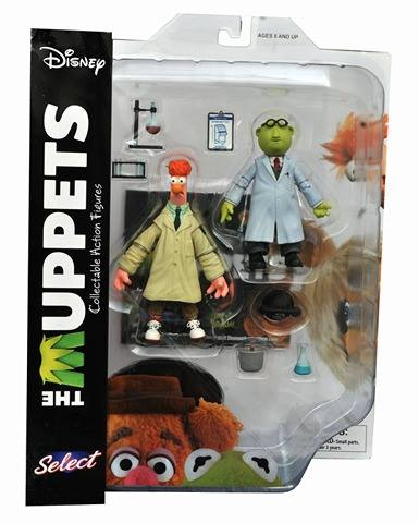 Bunsen and Beaker come with a bunch of lab equipment.