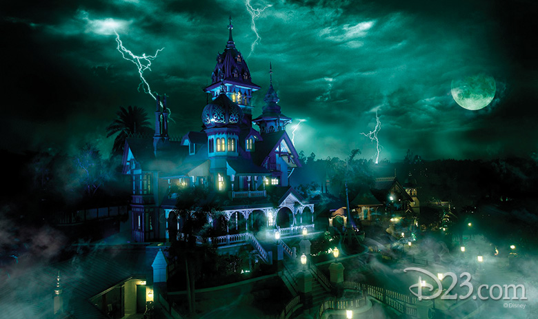Haunted Mansion Artwork Source: D23 Site