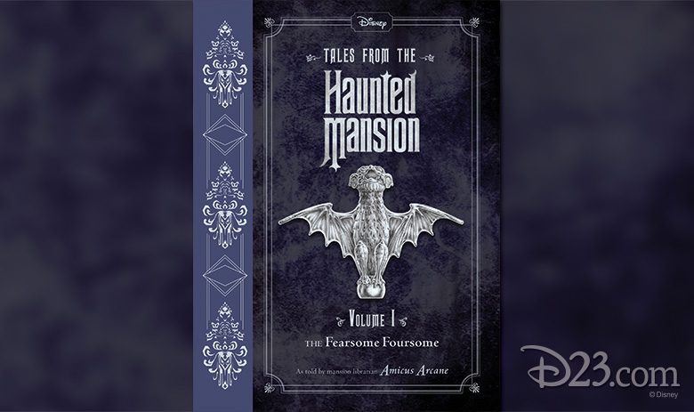 "Book Cover for ""Tales from the Haunted Mansion"" Source: D23 Site"