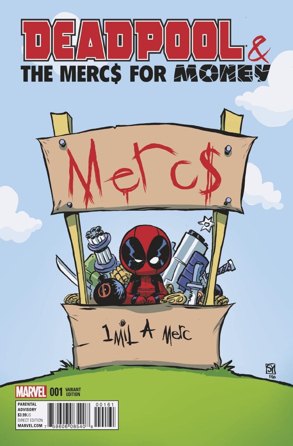 More Mercs Means More Money in Your New Look at DEADPOOL AND THE MERCS FOR MONEY #1!