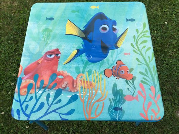 Review Finding Dory Table Amp Chairs Playland Jakks