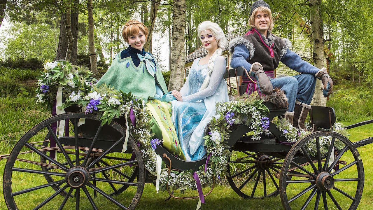 Visit Elsa, Anna & Kristoff While On A Norway Disney Cruise Line Vacation