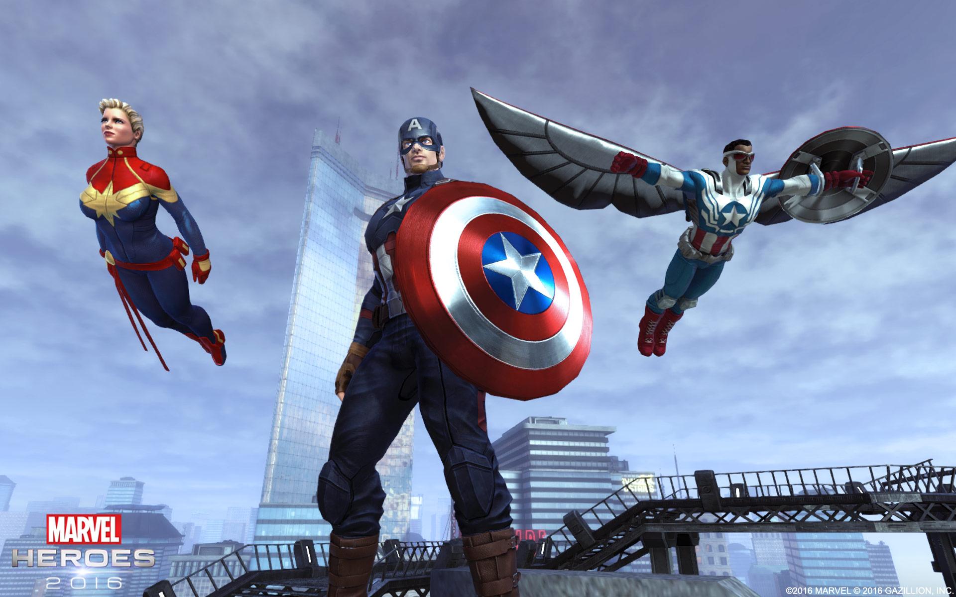 Marvel Heroes 2016 Celebrates Its Third Anniversary