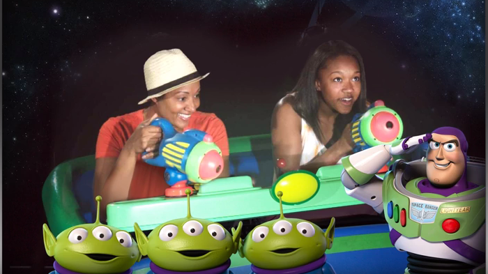 New Animated Magic Shot At Buzz Lightyear's Space Ranger Spin