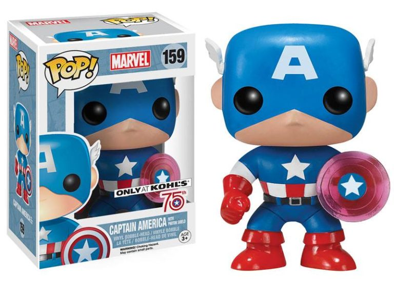 Captain America Pop Vinyl Coming To Kohl