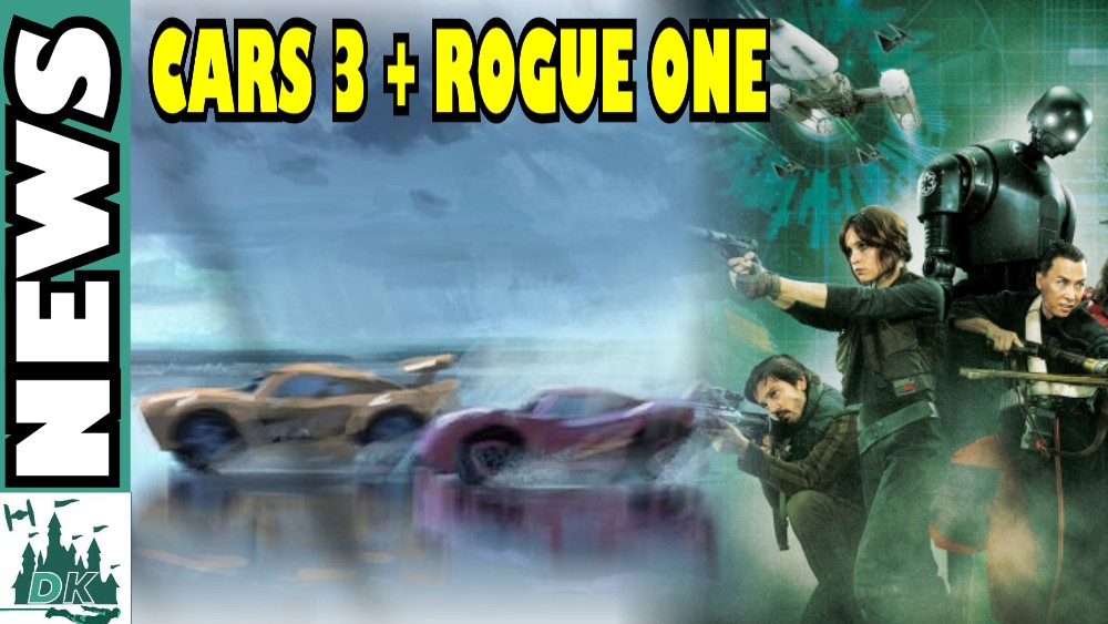 Cars 3 Sneak Peek + Rogue One: A Star Wars Story Reshoots | DisKingdom News