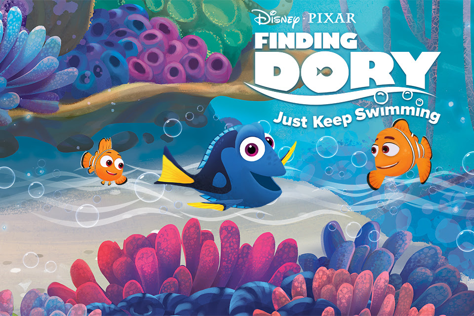Finding Dory: Just Keep Swimming Review
