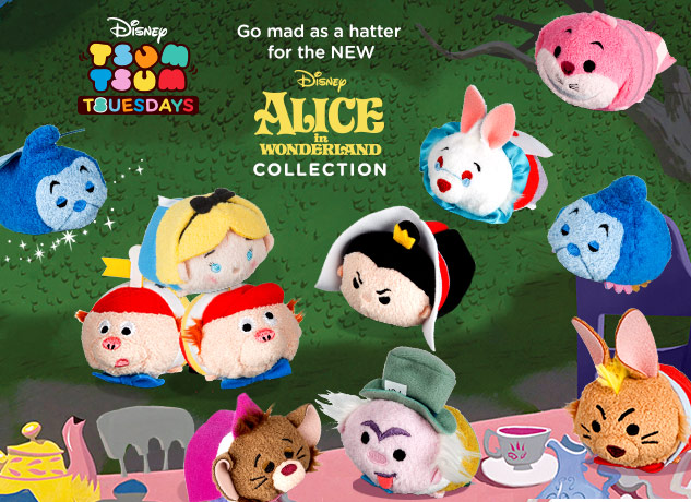 Alice In Wonderland Tsum Tsum Collection Out Now