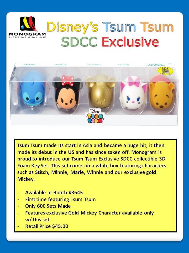 Disney Tsum Tsum Set Coming To SDCC