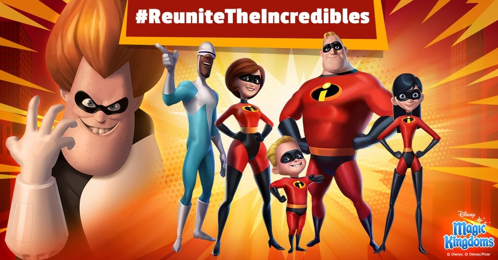 The Incredibles Are Coming To Magic Kingdoms