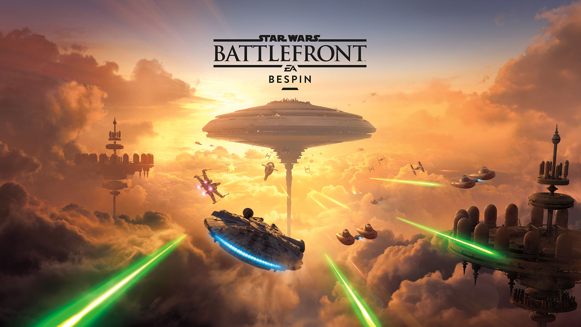 Star Wars Battlefront Bespin Expansion Pack Trailer