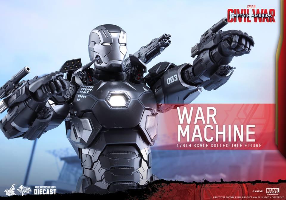 Hot Toys Announce New Civil War War Machine Mark III Figure