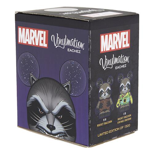 Marvel Rocket Raccoon Eachez Vinylmation Coming Soon