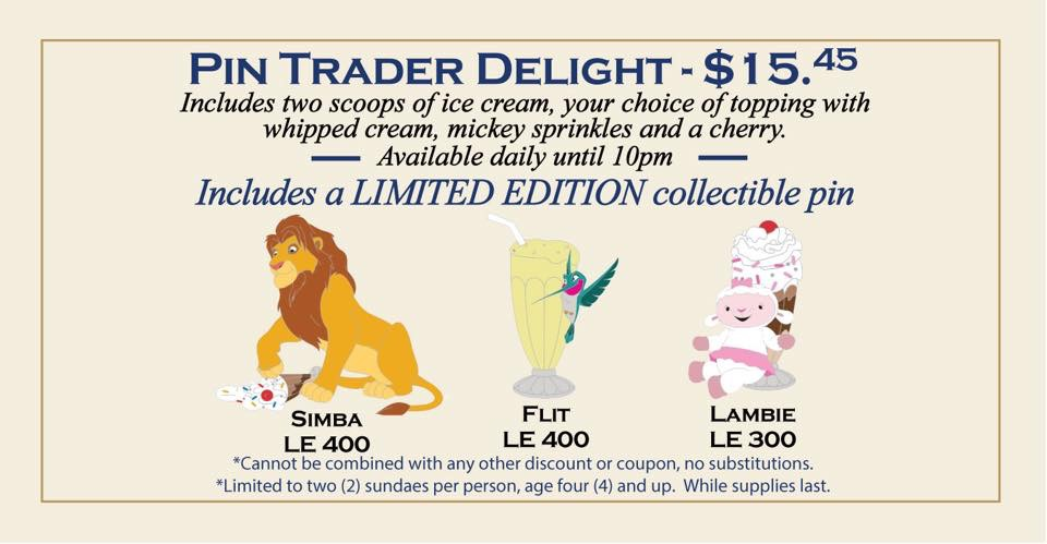 Latest Pin Trader Delights Announced