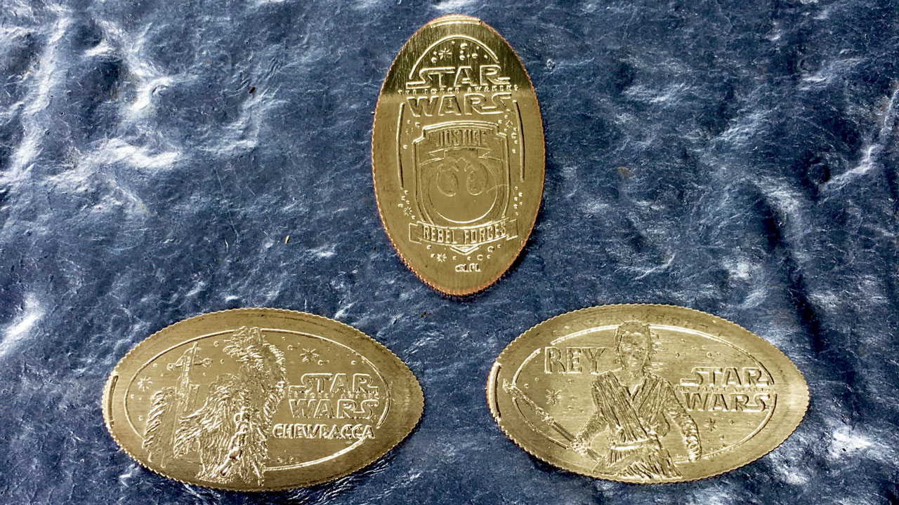 New Star Wars Pressed Coins Debut at the Disneyland Resort