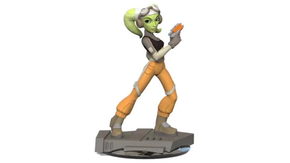 Star Wars Rebels Hera Disney Infinity Figure Revealed