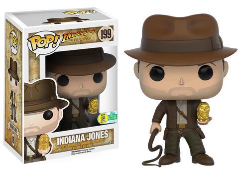 Indiana Jones Adventure Pop Vinyl Coming To SDCC