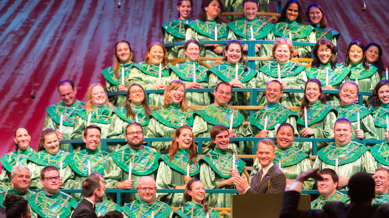 2016 Candlelight Processional at Epcot Dining Packages On Sale Today