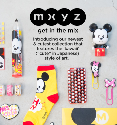New MXYZ Collection Online at The Disney Store!!!
