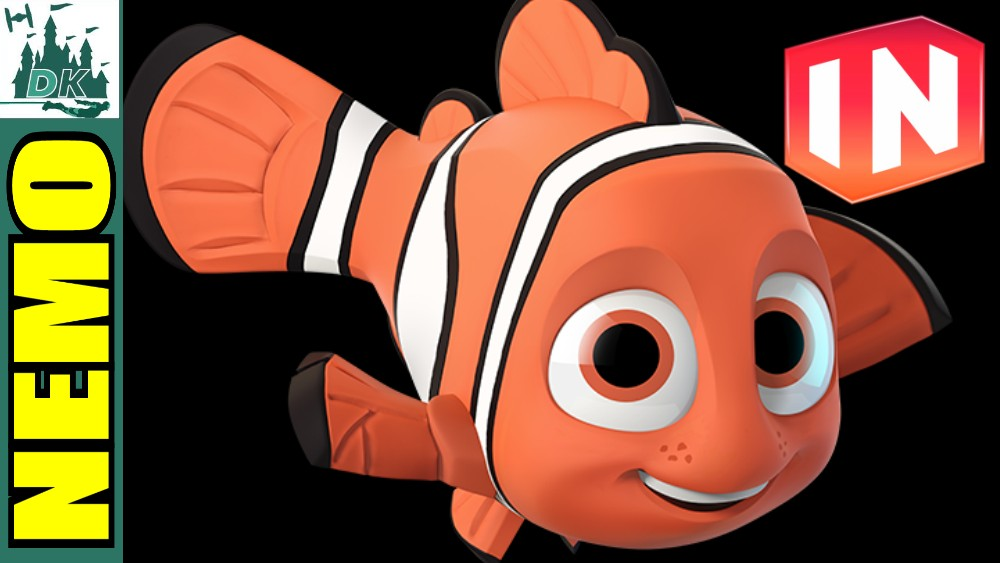 Nemo Gameplay Including Skill Tree + Abilities | Disney Infinity 3.0 |  Finding Dory