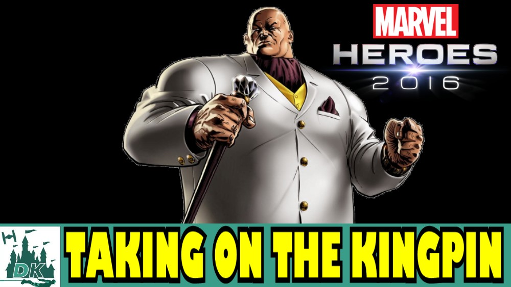 Taking On The Kingpin |  Marvel Heroes 2016 Let's Play