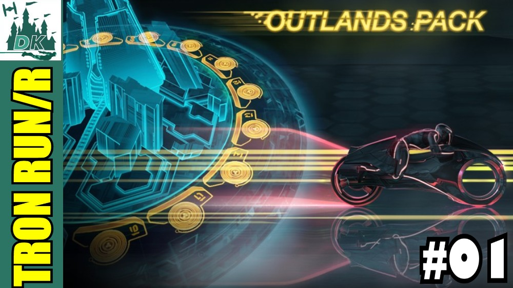 Tron Run/R Outlands Expansion Pack Let's Play