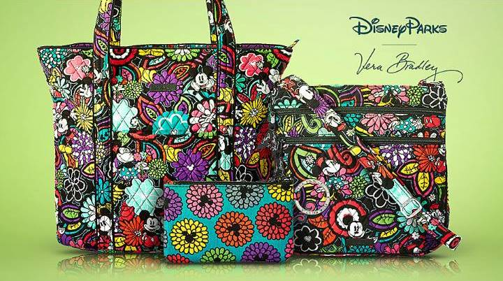 New Magical Blooms Vera Bradley Collection Available now on the Shop Disney Parks App!!!