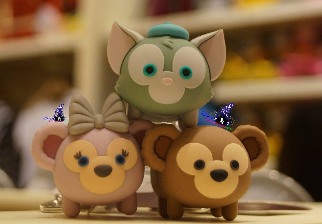 Duffy The Disney Bear Tsum Tsum Vinyl Keychains Released