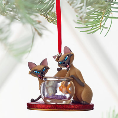 New sketchbook ornaments online at the disney store for Ariel christmas decoration