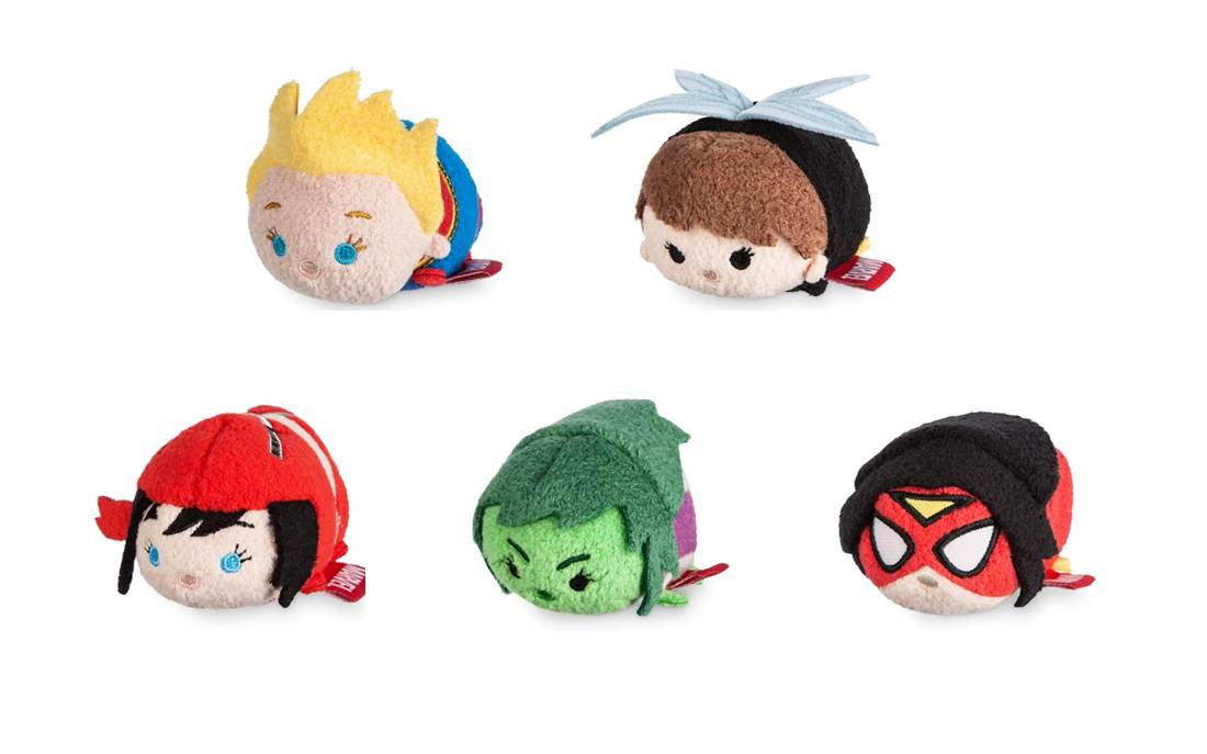 First-Ever All-Female Marvel Super Hero Mini Tsum Tsum Collection Flies Into Disney Store on July 19