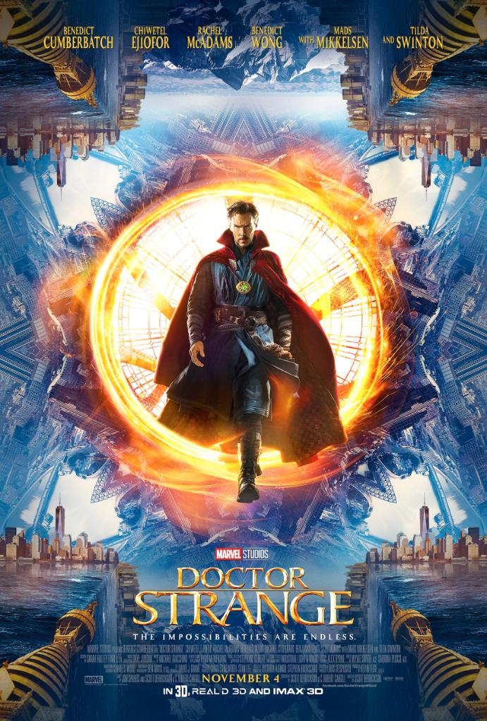 Doctor Strange Poster & Trailer Revealed At SDCC