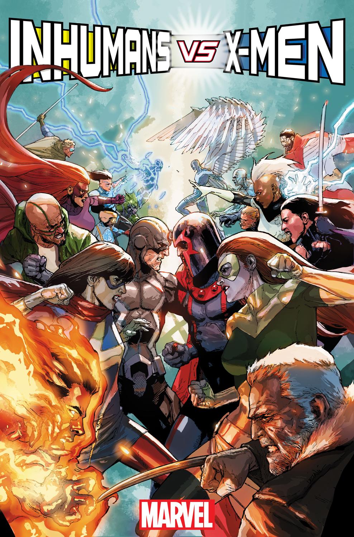 The War for Survival Begins in INHUMANS VS. X-MEN #1!