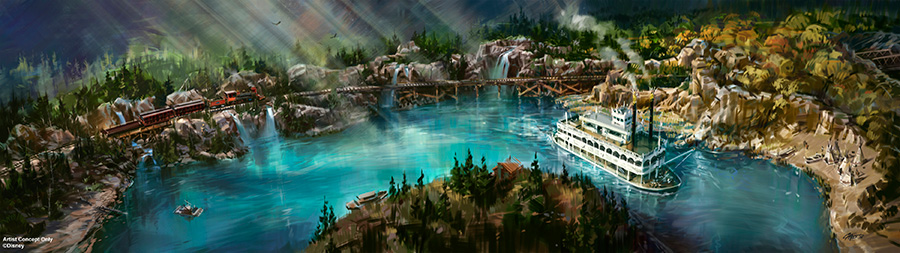 Disneyland Railroad & Rivers Of America Attractions To Reopen Summer 2017