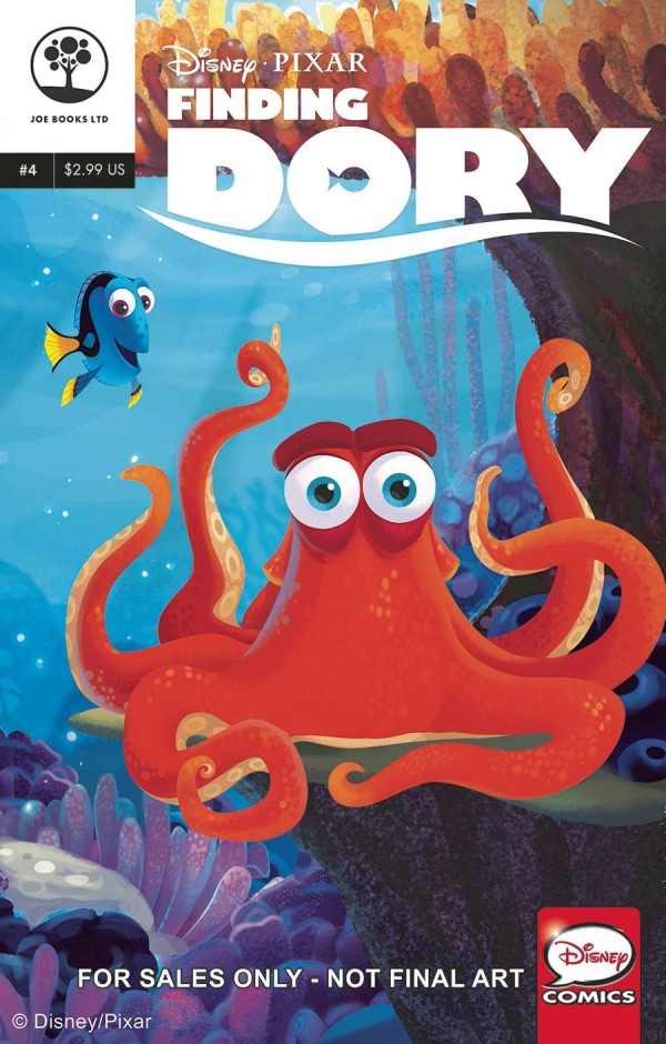 Joe Books September 2016 Disney Comic Book Releases