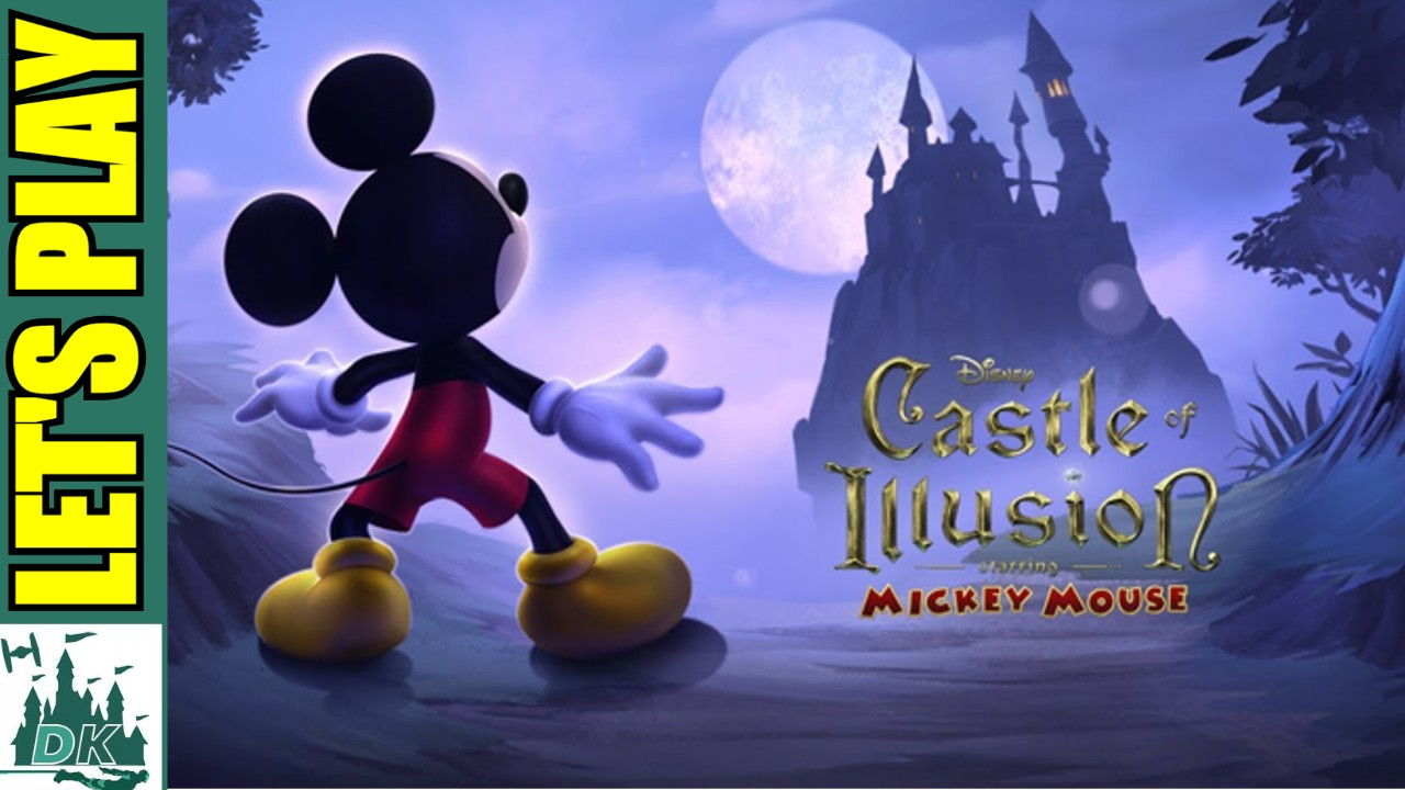 Castle of Illusion Starring Mickey Mouse |  Retro Let's Play