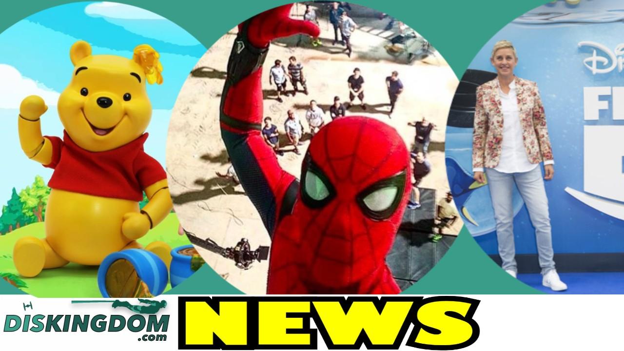Spider-Man Takes A Selfie | DisKingdom Daily News