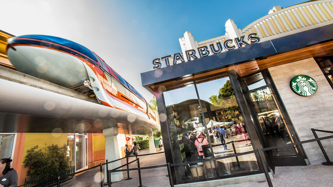 Second Starbucks Opens At Downtown Disney