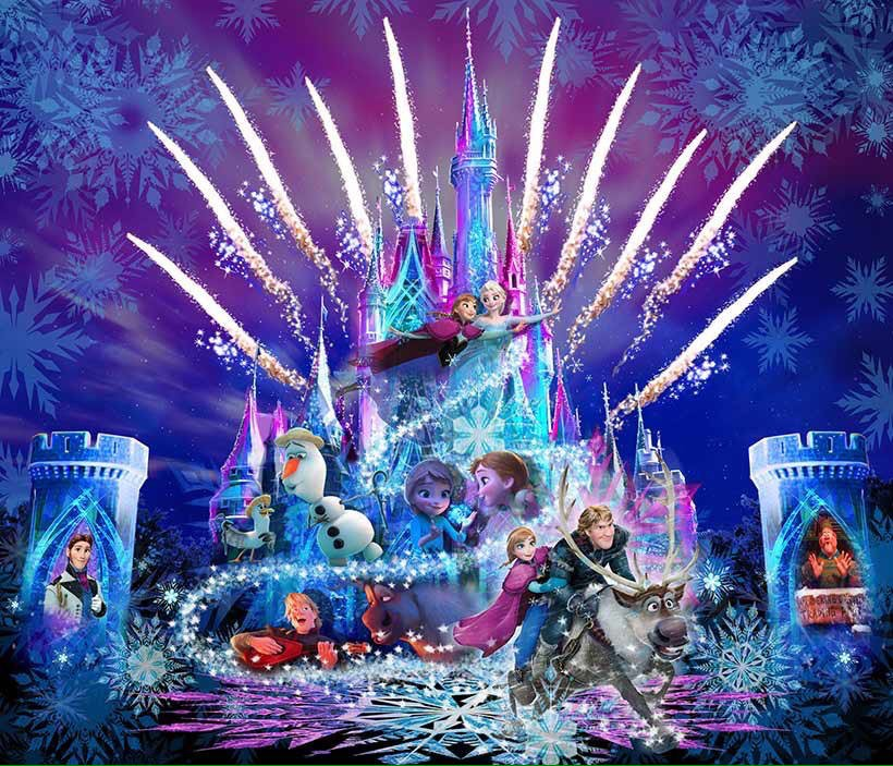 """""""Frozen Forever"""" New Nighttime Entertainment Coming To Tokyo Disneyland"""