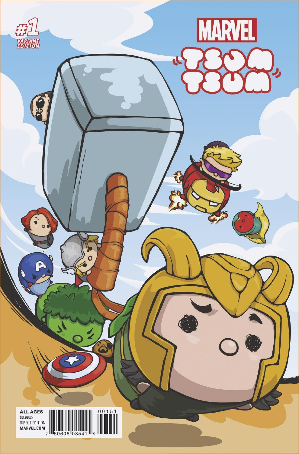 MARVEL TSUM TSUM #1 Brings Pint-Sized Heroes to the Marvel Universe in Your First Look!