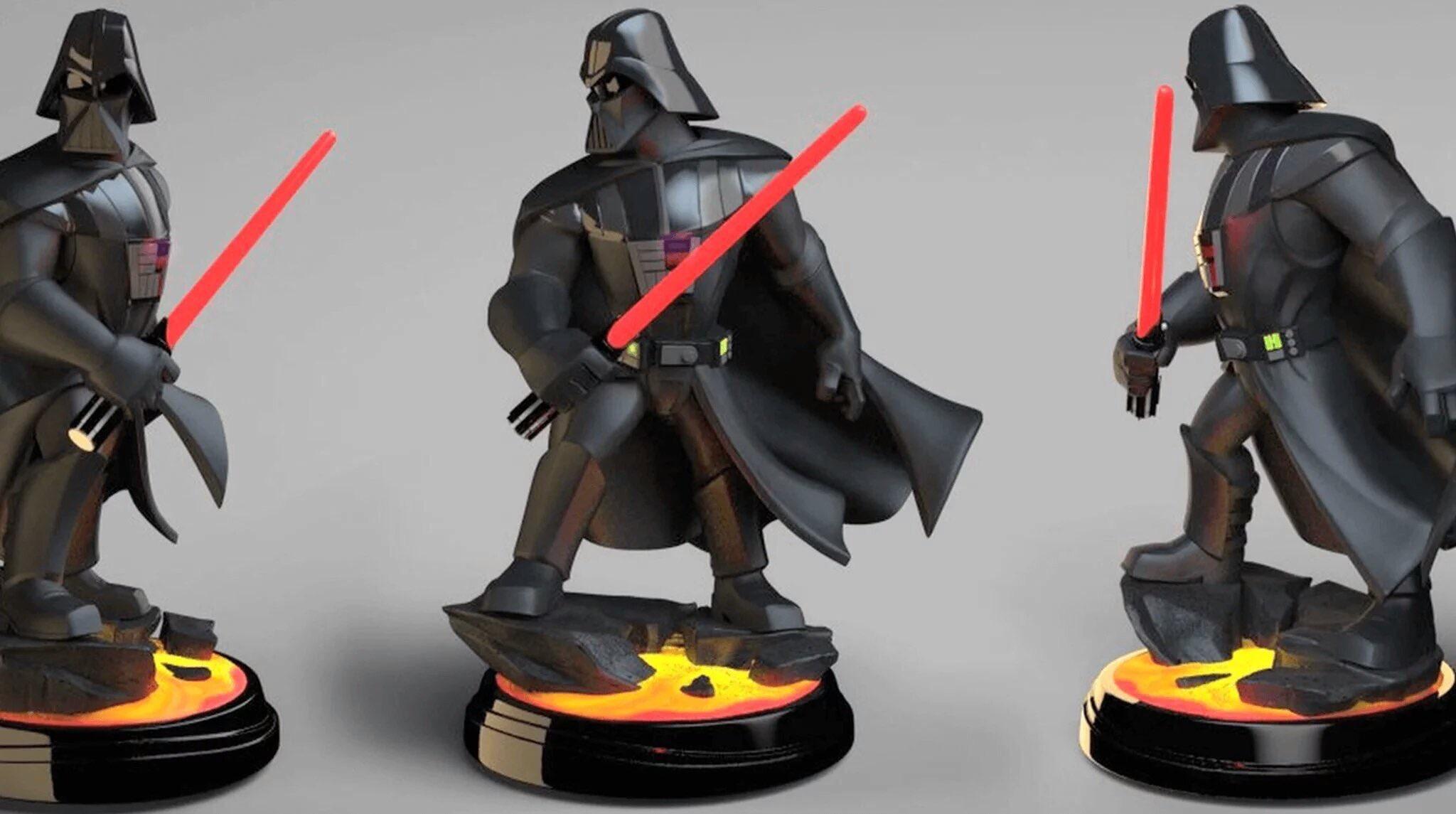 Cancelled Disney Infinity Premium Format Darth Vader Revealed