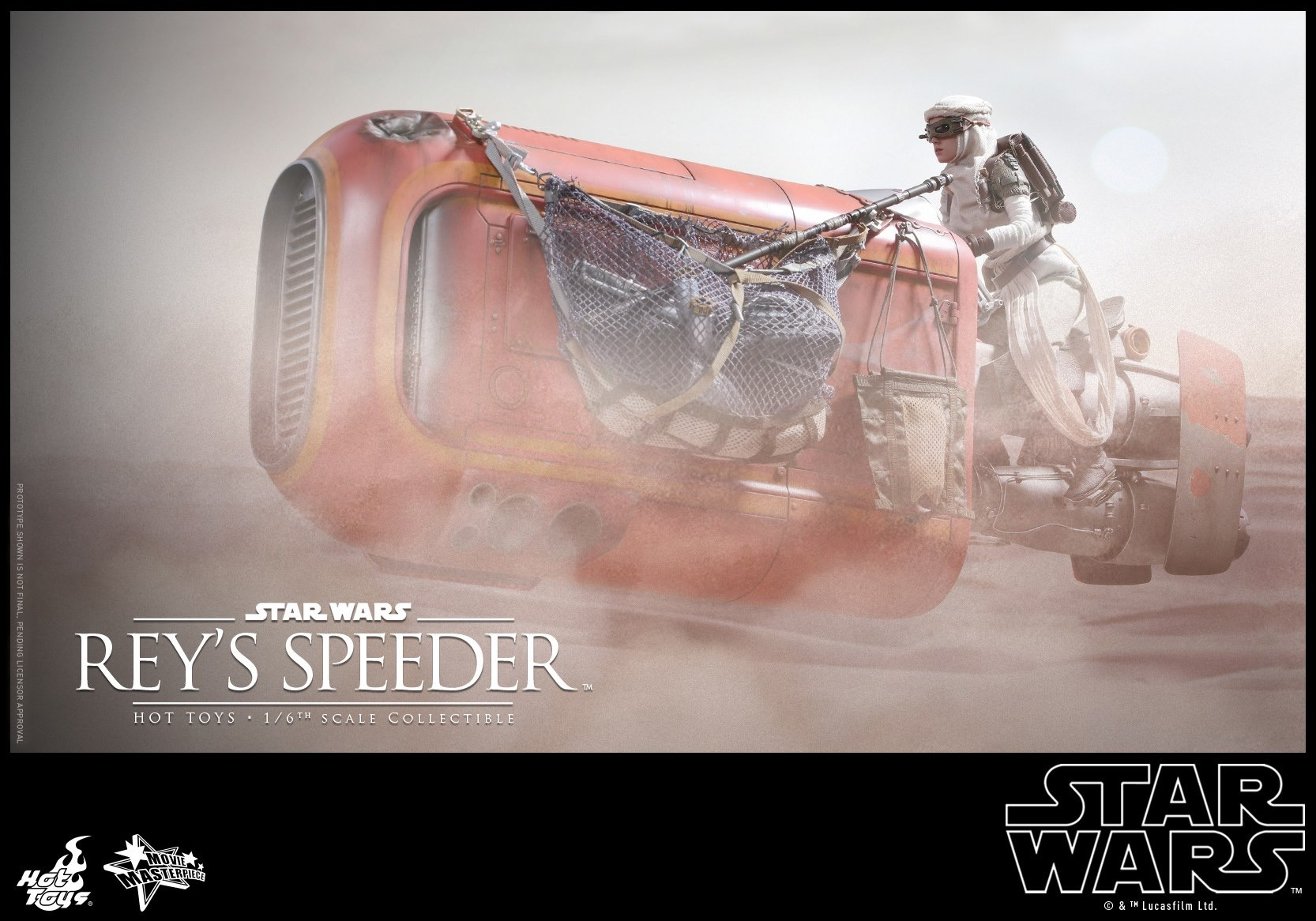 Star Wars: The Force Awakens Rey Speeder Coming To SDCC