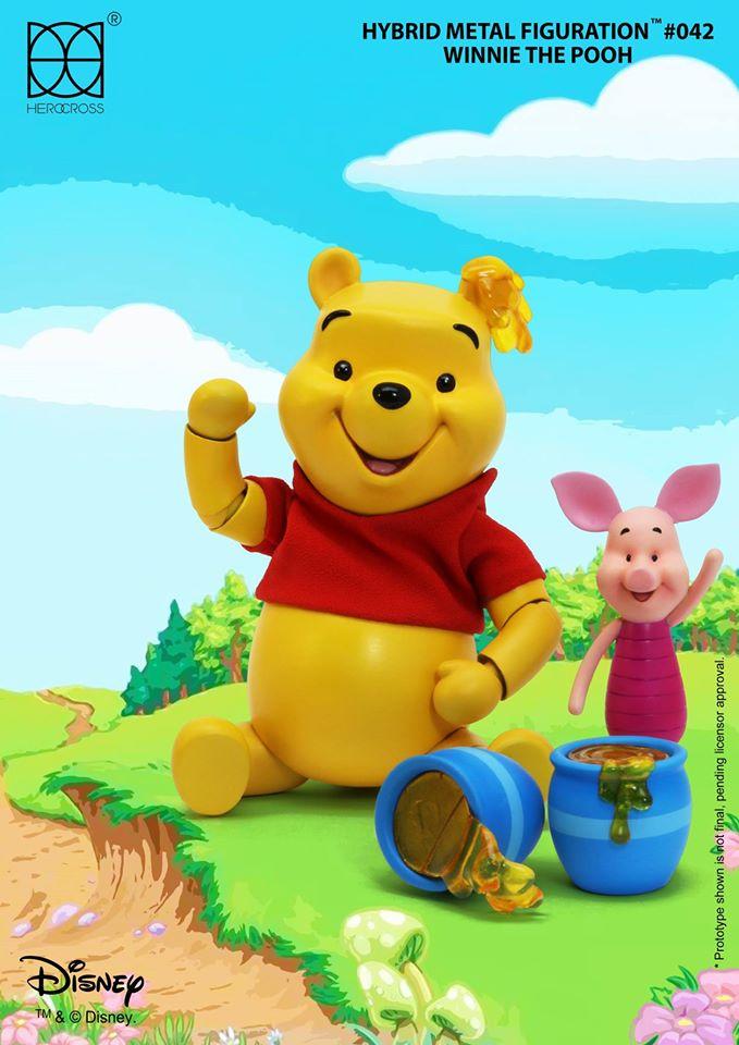Winnie The Pooh Herocross Figure Coming Soon