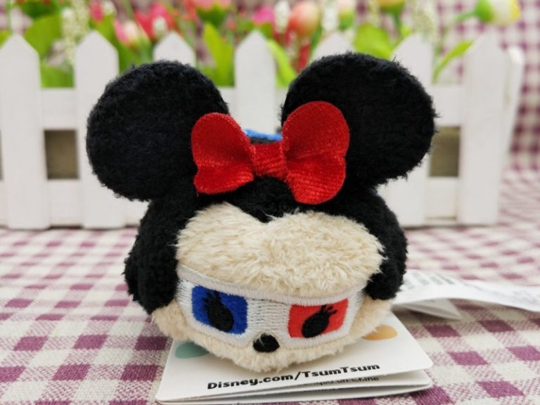 Minnie Mouse With 3d Glasses Tsum Tsum Discovered Diskingdom