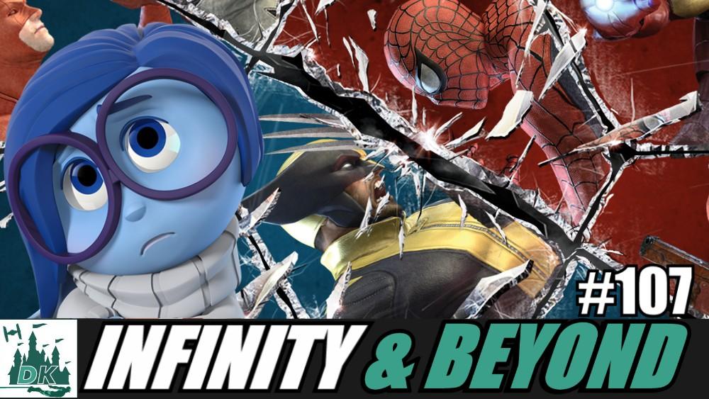 Infinity & Beyond #107 | Disney Infinity Shut Down + Marvel Ultimate Alliance Reaction