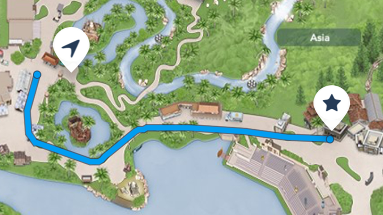 """""""Get Directions"""" Feature Added To My Disney Experience App"""