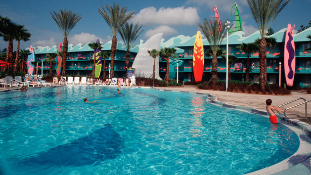 Disney S All Star Resort Grand Slam Pool Closing For