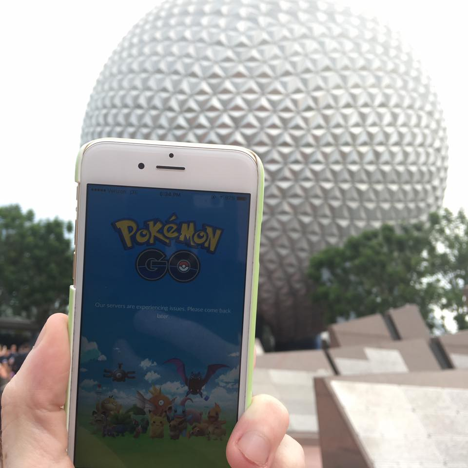 Can't Catch em all at EPCOT