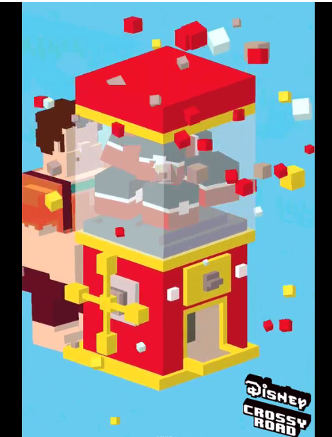 Wreck It Ralph Invades Disney Crossy Road